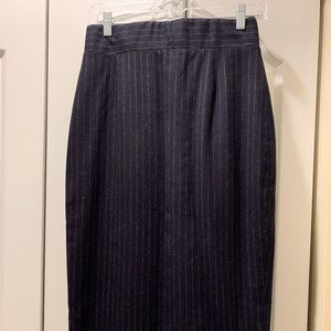 Brooks Brothers High-Waisted Wool Pencil Skirt